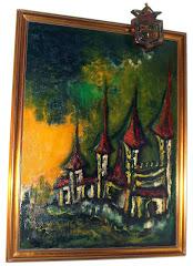 Castelos - Óleo sobre tela 70x90 cm