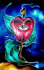 Fruto Proibido - Óleo sobre tema 60x100 cm