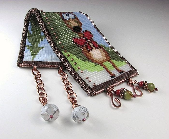 how to make an adjustable beading loom