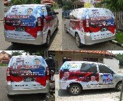 Sticker Mobil - Partai Demokrat - Munadi Herlambang
