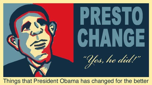 Presto Change
