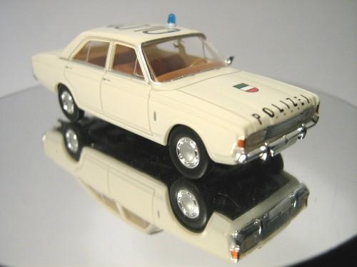 1//87 Brekina FORD 17m p7b polizia NRW 40//10 19403