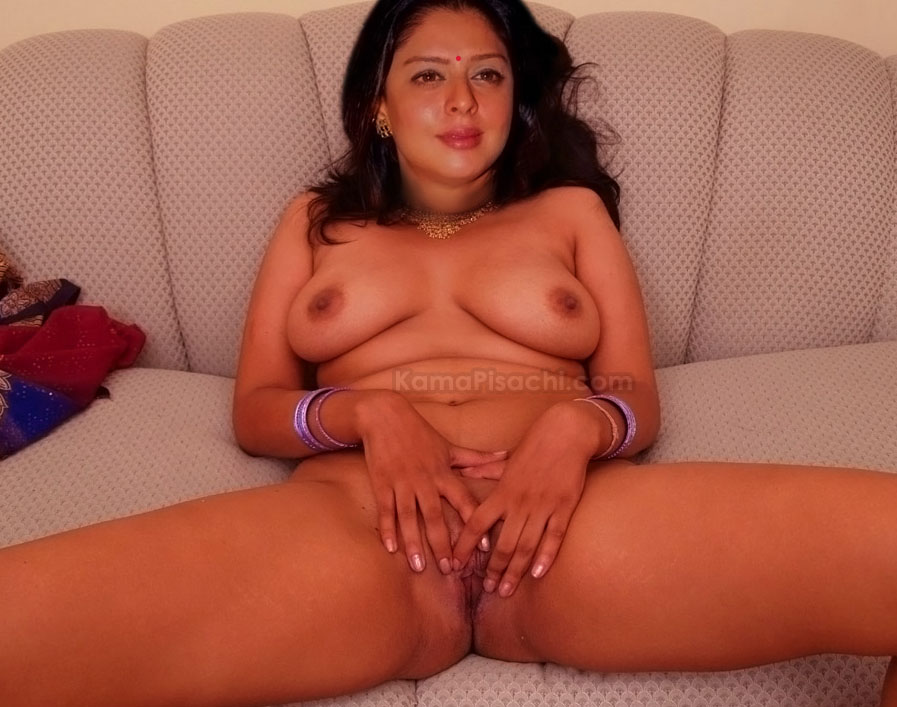 Nagma Spreading Her Legs Showing Pussy