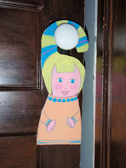 How To Do Something How To Make Personalized Door Hangers