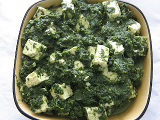 Ghar ka khana palak paneer tofu with spinach recipe source adapted from sanjeev kapoors cookbook forumfinder Gallery