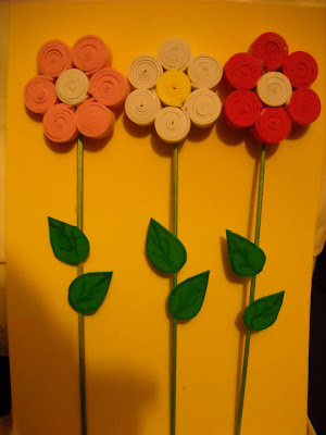 Labores y manualidades varias flor en goma eva - Flor de goma eva ...