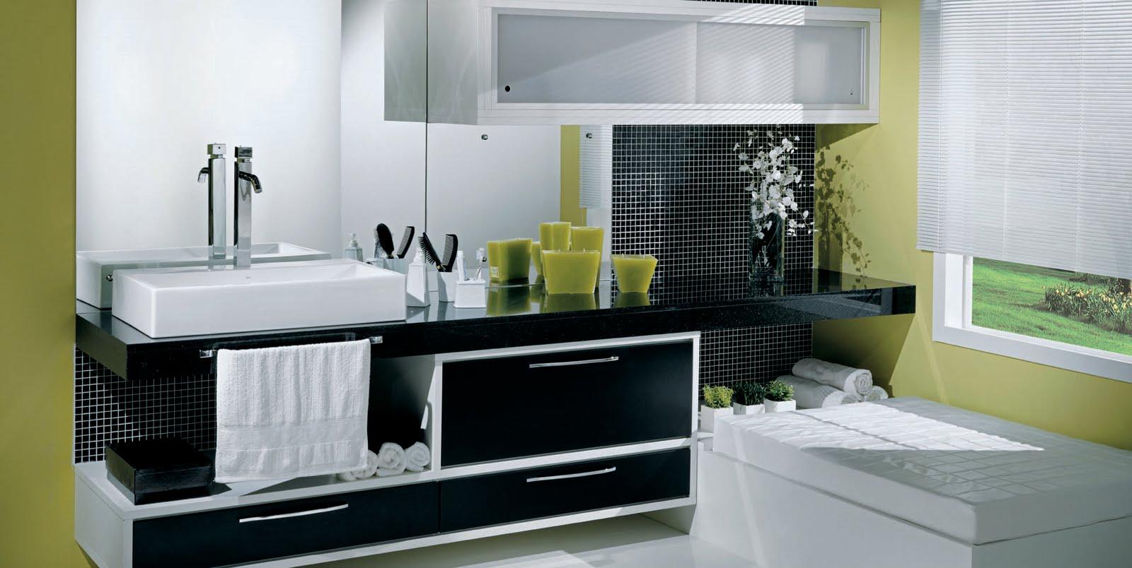 Imagens de #7D7D3C Banheiro Planejado Bonito Banheiro Planejado Grande 1600x804 px 3726 Banheiros Planejados Preto E Branco