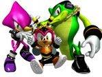 Amy The Hedgehog Team+Chaotix