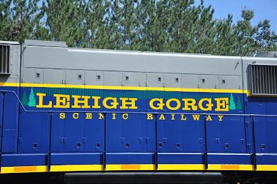 Lehigh on Lehigh Gorge Scenic Railway Lettering
