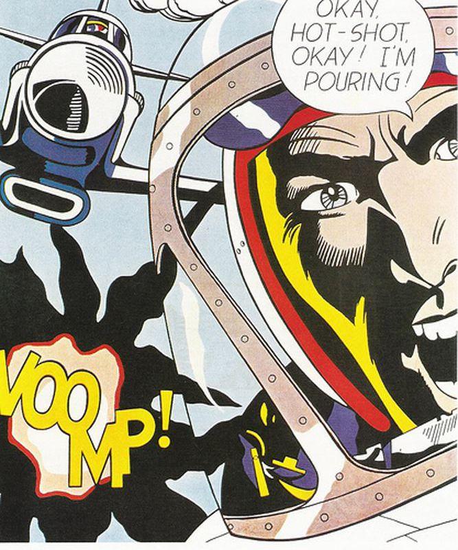 Daily artist roy lichtenstein october 27 1923 september 29 1997 - Roy lichtenstein pop art ...
