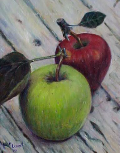Apples (For Sale $75) unframed
