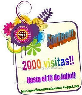 SORTEO POR SUS 2000 PRIMERAS VISITAS.