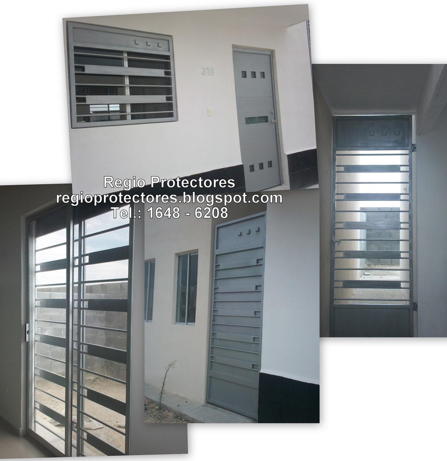 Regio Protectores Protectores para ventanas y Puerta Principal de
