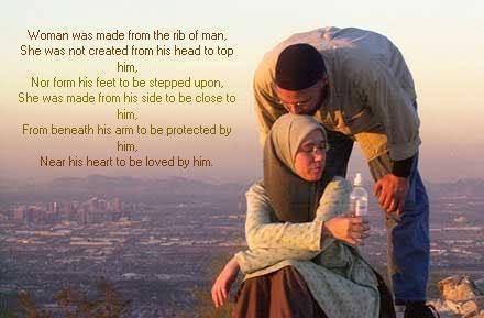 """Las últimas palabras del profeta Muhammad antes de su muerte fueron: """"Tratad bien a las mujeres""""."""
