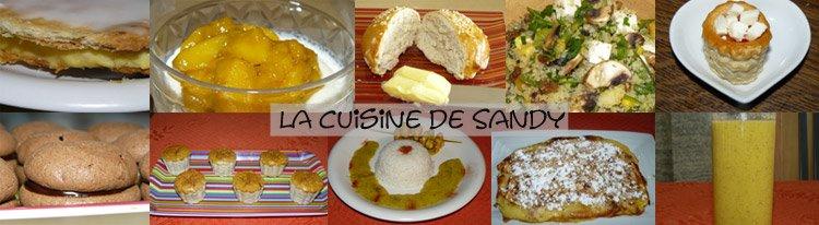 La cuisine de sandy