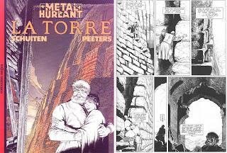 Comic: La Torre aquí podés ver una página de muestra