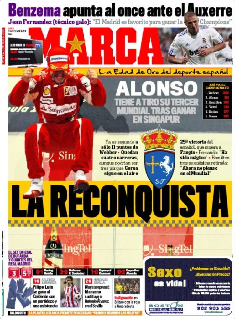Diario Deportivo Marca 4 Septiembre 2011