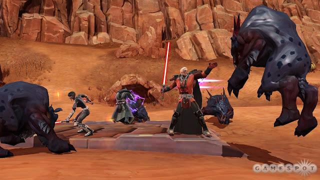 Star Wars The Old Republic: SWTOR: Маленькая назойливая смерть