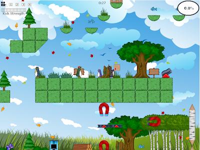 Storked platform game