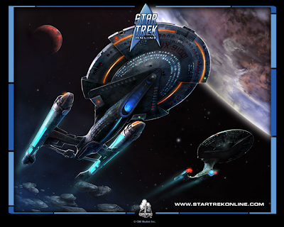 Star Trek enterprise desktop