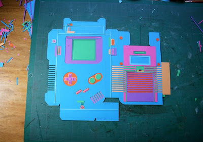 Gameboy Papercraft