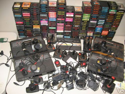 Atari retro games consoles
