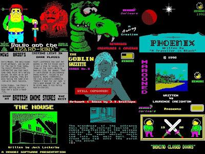 Zenobi Software Loading Screens ZX Spectrum
