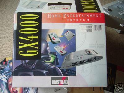 Amstrad GX4000 box
