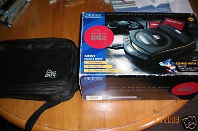 Sega CD X box