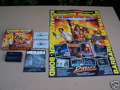 Domark Heroes Spectrum