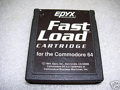 Epyx Fast Load Cartridge FastLoad C64