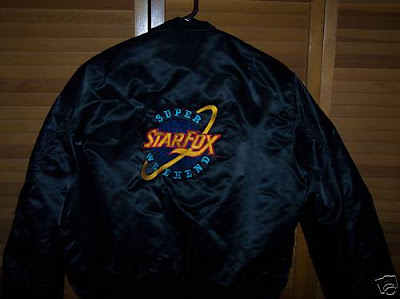 Nintendo Super Starfox Weekend Contest Jacket