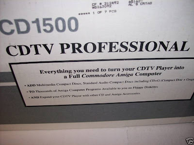 CD1500: CDTV Professional