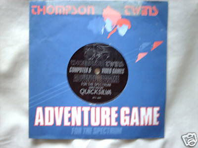 Thompson Twins Adventure Game Flexi Disc Adventure Game CVG