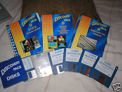 Atari STe Discovery Pack
