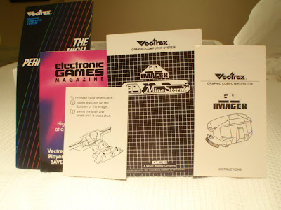 Vectrex 3-D Imager manual