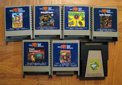atari xe game cartridges