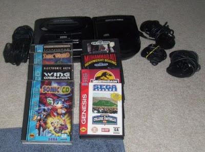 Sega Genesis Sega CD