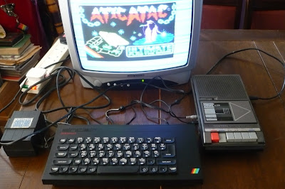 Atic Atac Sinclair Spectrum +
