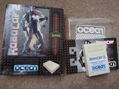C64 Robocop 2 cartridge