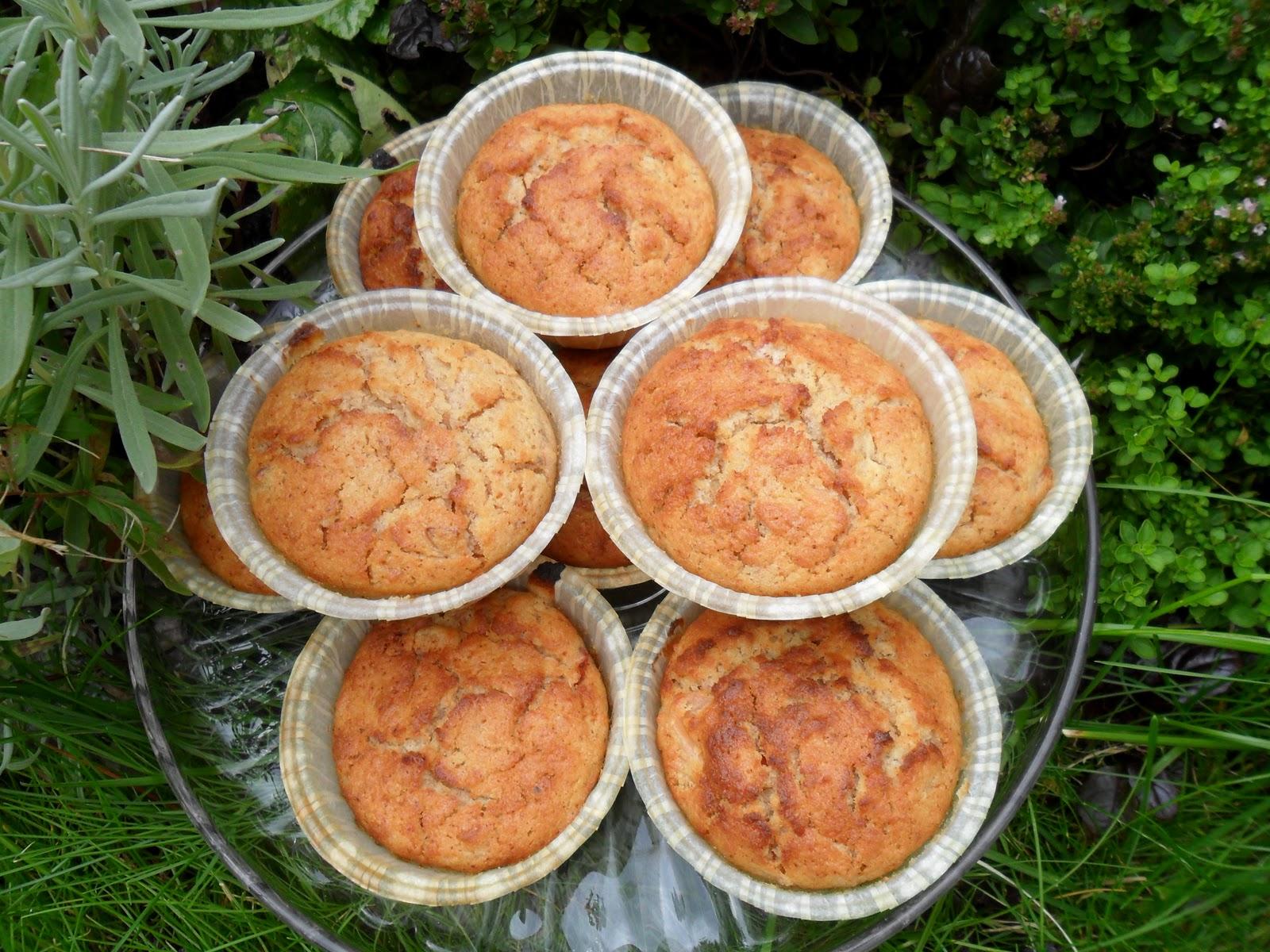äppelmuffins med kanel