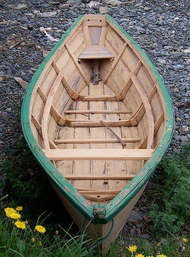 Лодка дори своими руками