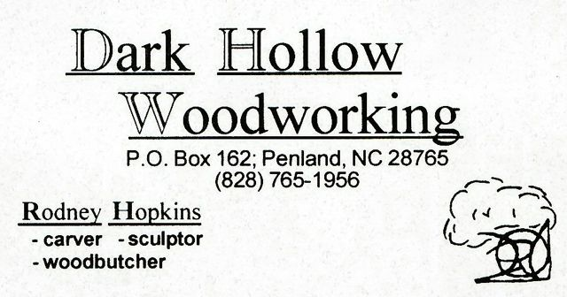 Dark Hollow Woodworking