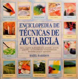 enciclopedia de tecnicas de la acuarela libro book watercolor skills