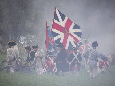 The Battle at Mount Harmon