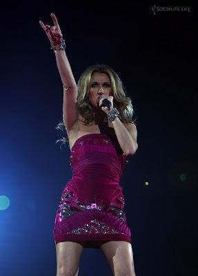 Celine Dion Zwaarte Pics