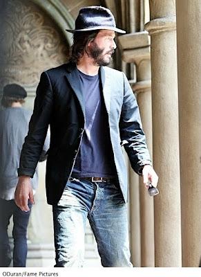 Keanu reeves' - Always a Suspect Look!