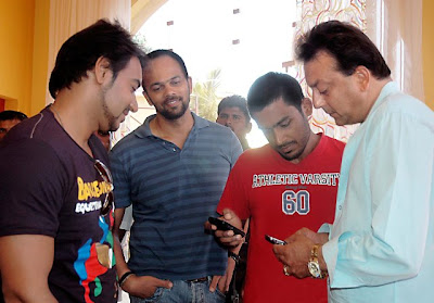 Ajay Devgan & Sanjay Dutt promote All The Best pics