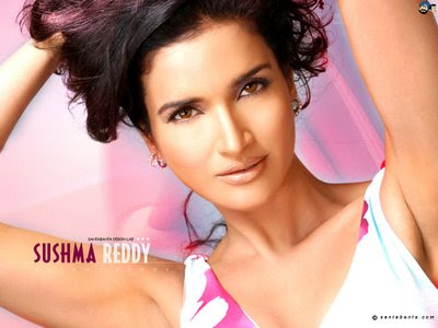 Sushma Reddy Looks Very Hot in Pink Dress, Sushma Reddy hot photos in pink dress, Sushma Reddy in pink dress images, Sushma Reddy