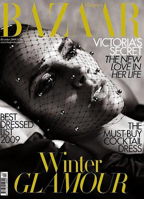 Victoria Beckham on Harper's Bazaar Magazine December 2009 photos